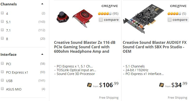 buyingasoundcard-newegg