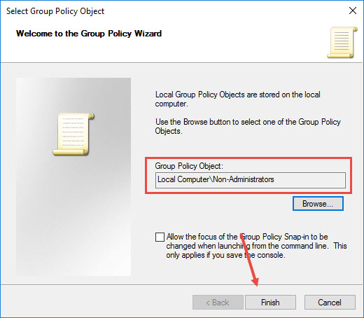 custom-group-policy-snap-in-click-finish