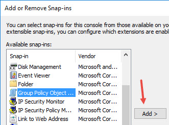 custom-group-policy-snap-in-select-gp-object