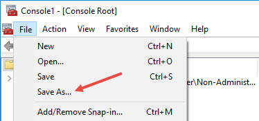 custom-group-policy-snap-in-select-saveas