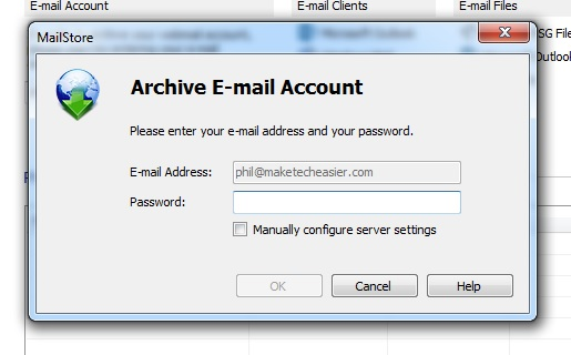 email-archive-mailstore-authorise-account