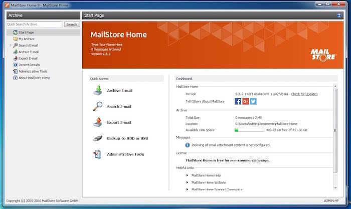 email-archive-mailstore-dashboard