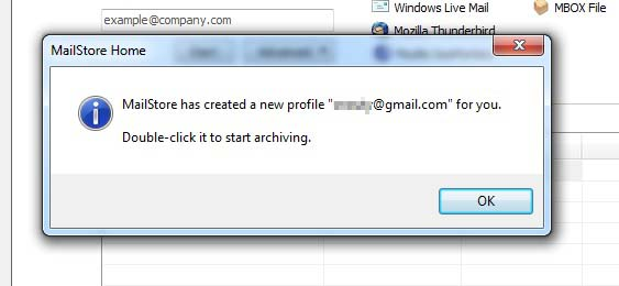 email-archive-mailstore-profile-created