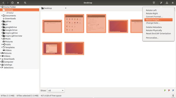 gthumb-tools-menu