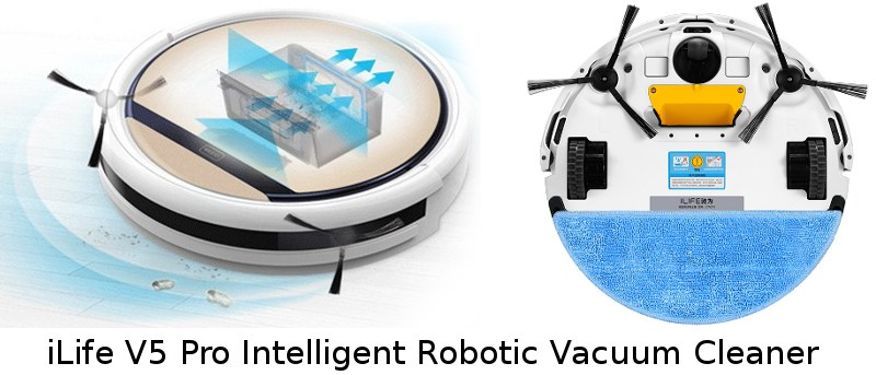 iLife V5 Pro Intelligent Robotic Vacuum Cleaner Review