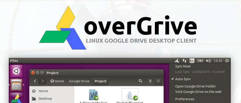 How to Install and Configure Overgrive on Linux - Unofficial Google Drive Client