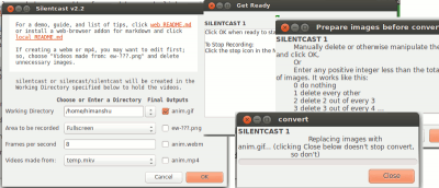 How to Create an Animated GIF of Your Screencast in Linux