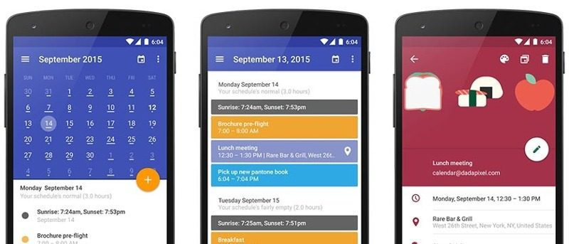 Five Alternatives to Sunrise Calendar for Android