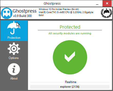 win-anti-keylogger-ghostpress-homescreen