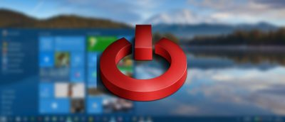 How to Remove the Shutdown Button from the Windows 10 Login Screen