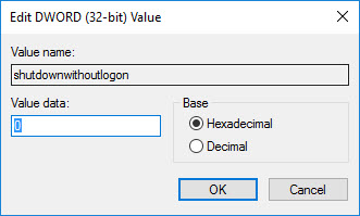 win10-remove-shutdown-button-value-data-to-0