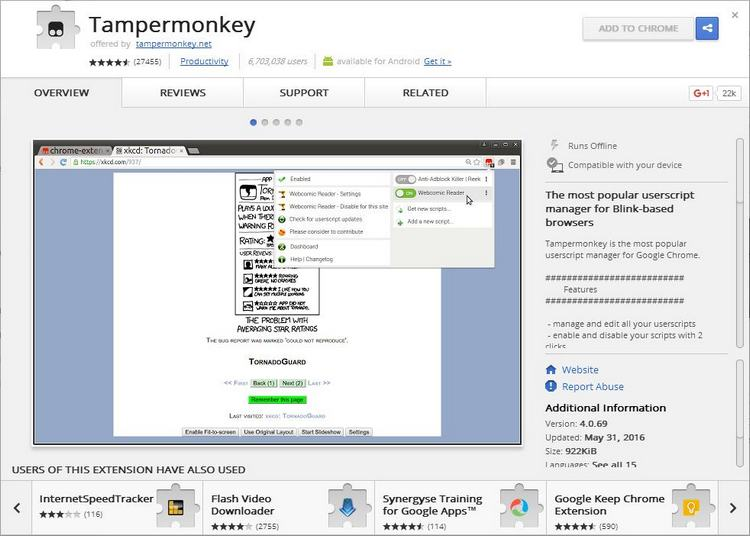CHK-Tampermonkey-ExtensionDetails