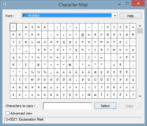 EM101-General-CharacterMap