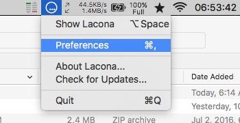 Lacona -mte- Open Preferences