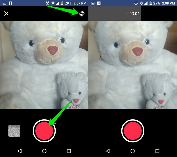 Set-Video-As-Facebook-Profile-Picture-Record