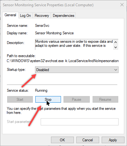 Enable or Disable Adaptive Brightness in Windows 10