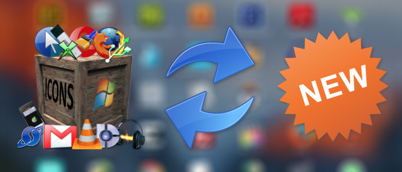 Tired of the Default OS X El Capitan App Icons? Here's How to Change Them