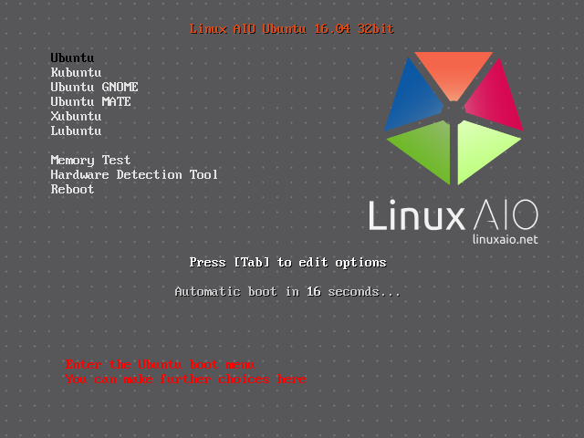 linux-aio-ubuntu-boot-menu