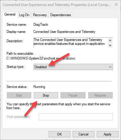 win10-telemetry-settings-disable-service