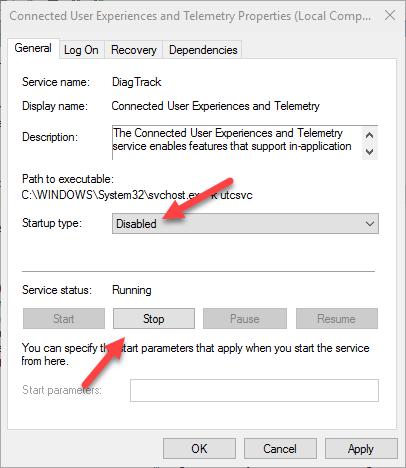 win10-telemetry-settings-disable-service