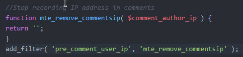 wp-remove-comment-ip-address-add-code-snippet