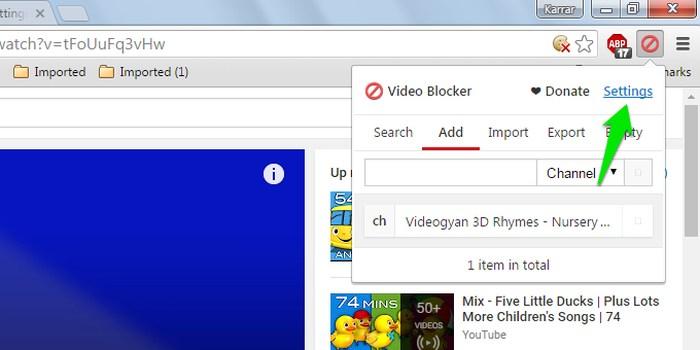 Block-Youtube-Channels-Settings