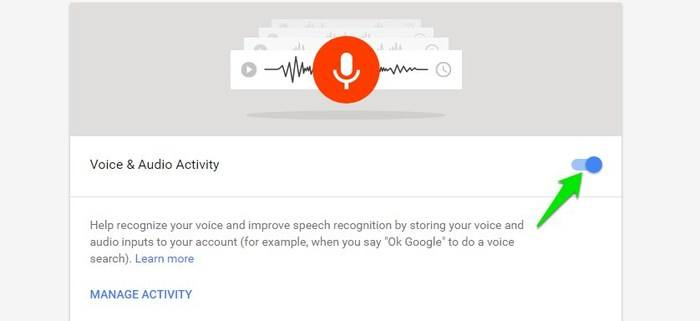 Delete-Google-Voice-Search-Disable-recording