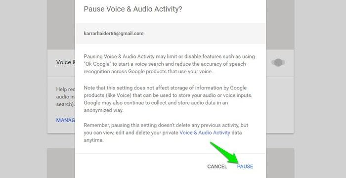 Delete-Google-Voice-Search-Pause