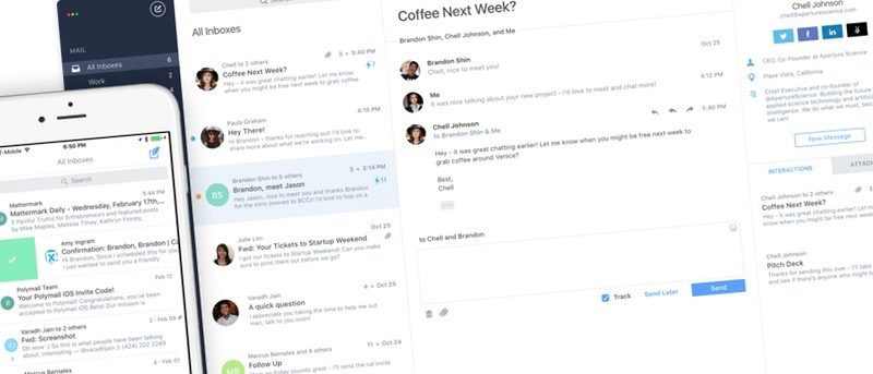 Polymail - The Ultimate eMail Client for Mac and iOS