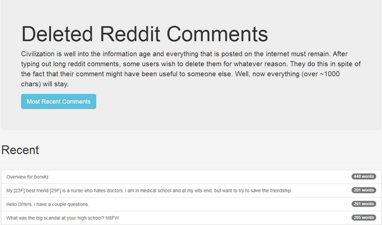 How to Easily Access Deleted Comments on Reddit