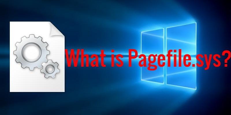 what is pagefile.sys and can i delete it
