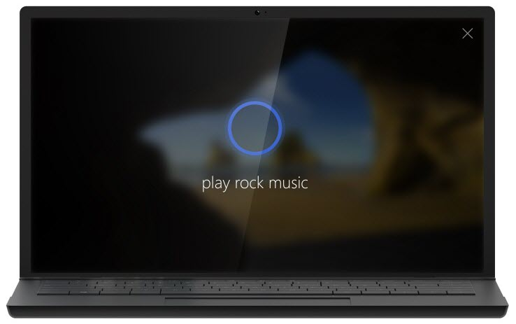 Windows 10 Anniversary Update cortana on lock screen