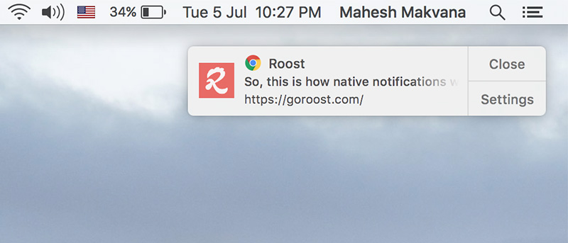 How to Enable Chrome's Native Notifications on Your Mac