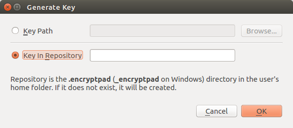 encryptpad-gen-key