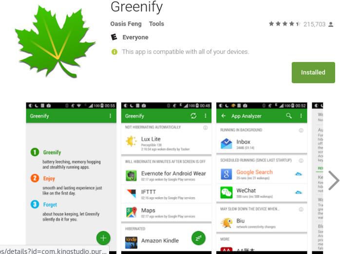 root-tools-greenify