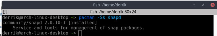 snapd-arch-linux-snapd-package