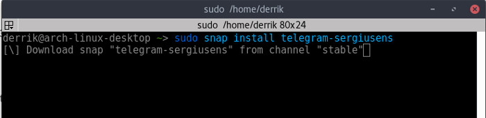 snapd-install-snap-package