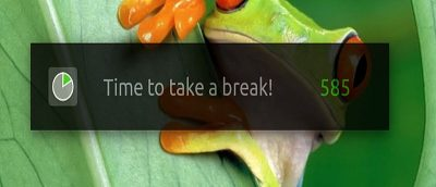 Force Yourself to Take Periodic Breaks in Ubuntu Using Take a Break