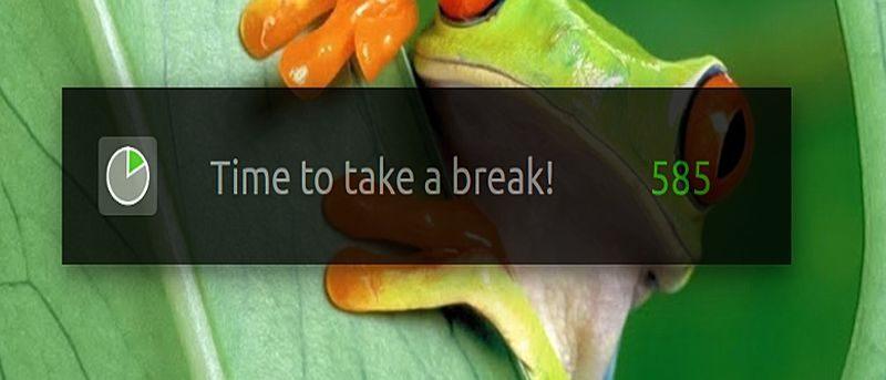 How to Force Yourself to Take Periodic Breaks in Ubuntu Using 'Take a Break'