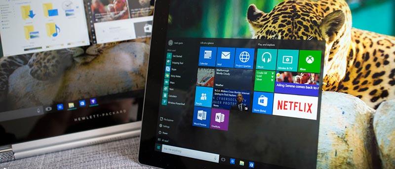 windows 10 startup menu missing
