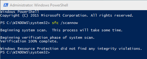 win10-fix-corrupted-system-files-no-file-violations