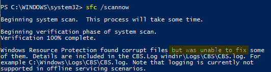 win10-fix-corrupted-system-files-sfc-unable-to-fix