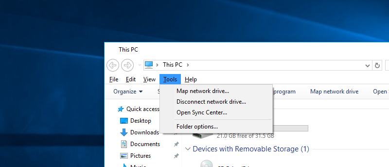 Make Windows 10 File Explorer Look Like Windows 7 File Explorer