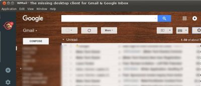 Access Your Gmail and Google Inbox on Linux Using Wmail