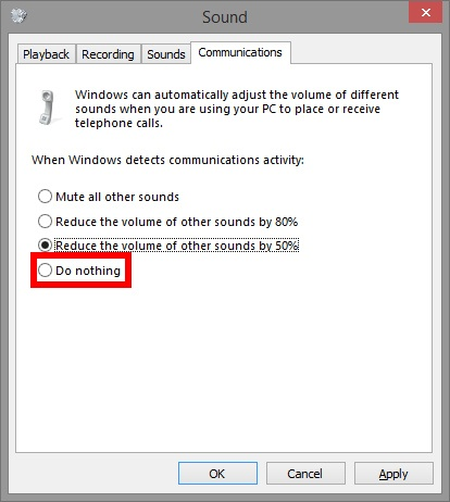 how to make volume louder while in a skype call