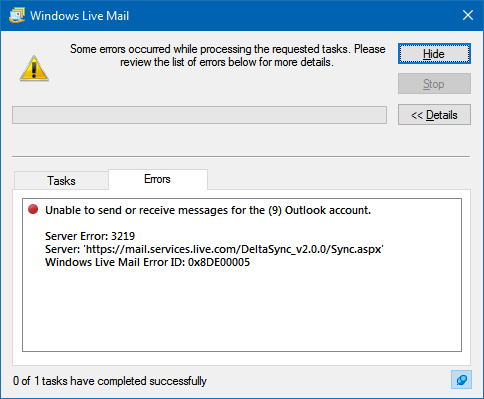 windows-live-mail-error-message