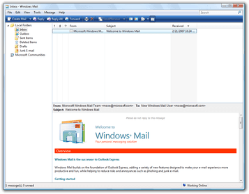 windows-live-mail-interface