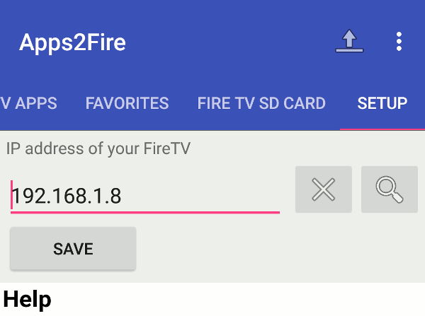 android-apps2fire-setup