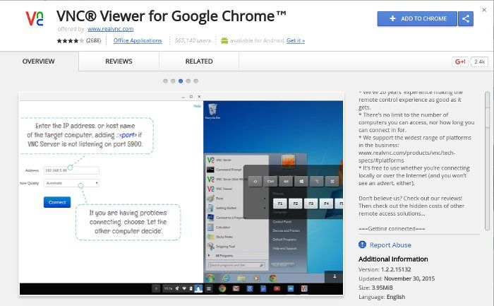 chrome-remote-vnc-viewer