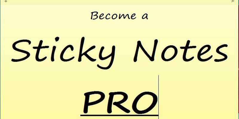 4 Windows Sticky Notes Tips For Better Productivity - Make Tech Easier